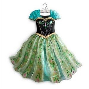 Anna Frozen Coronation costume💚